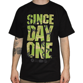 Real SDO II Camo T-Shirt - Black/Camo