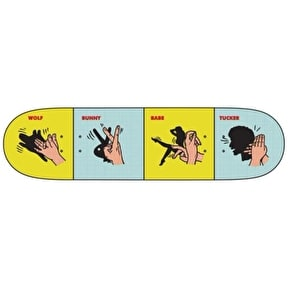 Primitive Skateboard Deck - Tucker Shadow Puppets - 8.1''