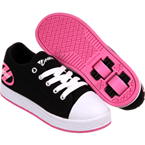 B-Stock Heelys X2 Fresh - Black/Pink - UK 3 (Cosmetic Damage)
