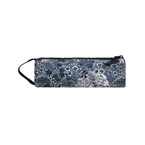 Mi-Pac Oriental Birds Pencil Case - Blue