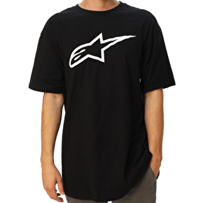 Alpinestars Ageless Classic T-Shirt - Black/White