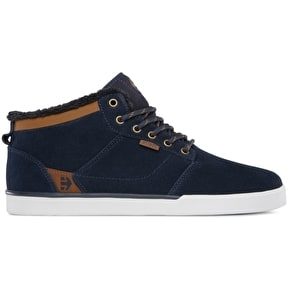 B-Stock Etnies Jefferson Mid Skate Shoes - Navy/Brown/White UK 9 (Slightly Used)