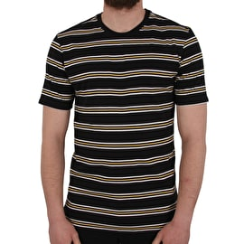 Nike SB Summer Stripe Shirt - Black/Black/Laser Orange