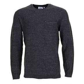 WeSC Arvid Sweater - Black Melange