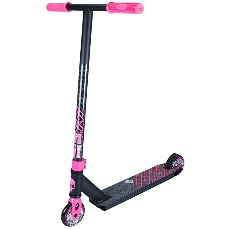 Madd Kick Extreme II Complete Scooter - Black/Pink