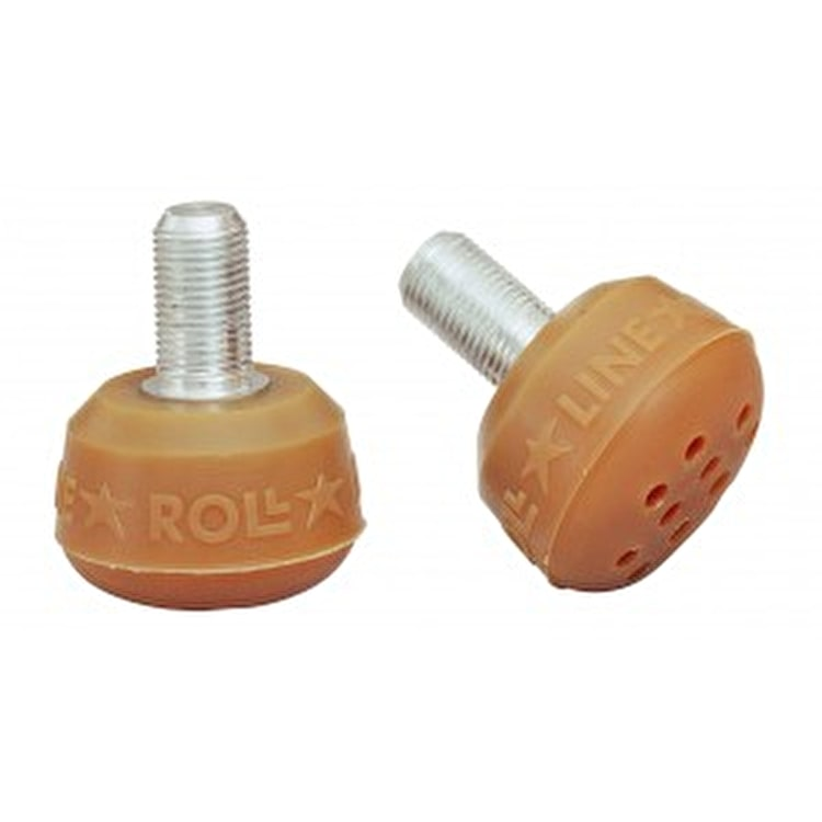Roll Line Amber Toe Stops