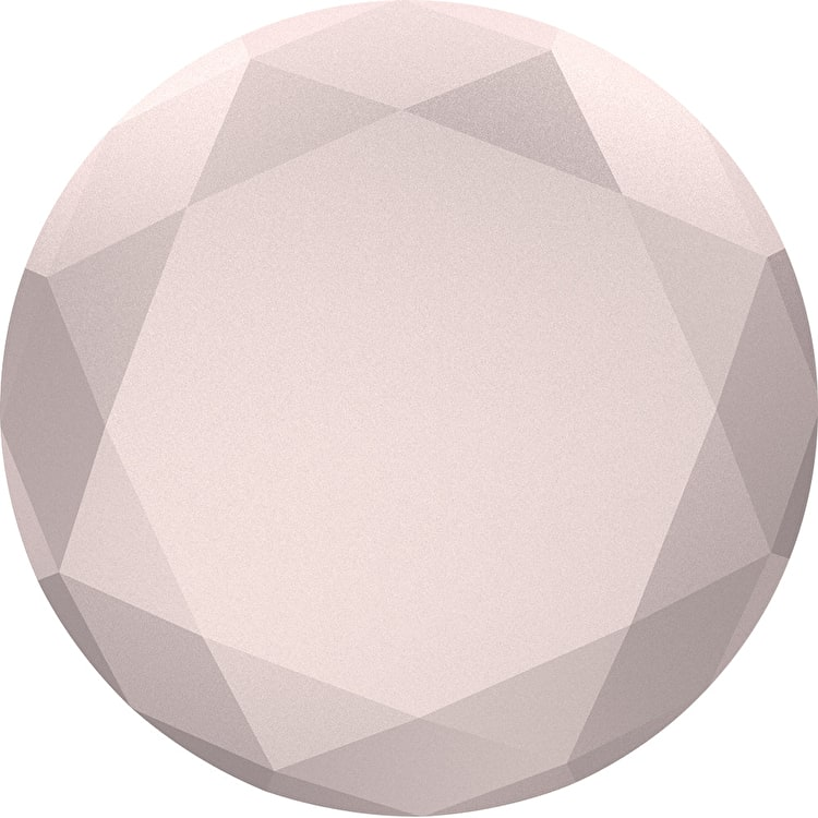 PopSockets Grip - Rose Gold Metallic Diamond