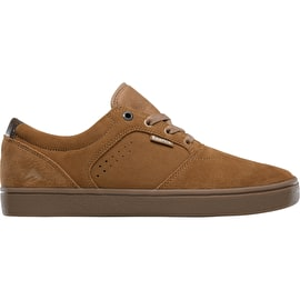Emerica Figgy Dose Skate Shoes - Tan/Gum