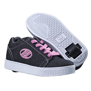 Heelys Straight Up - Pink / Charcoal / White
