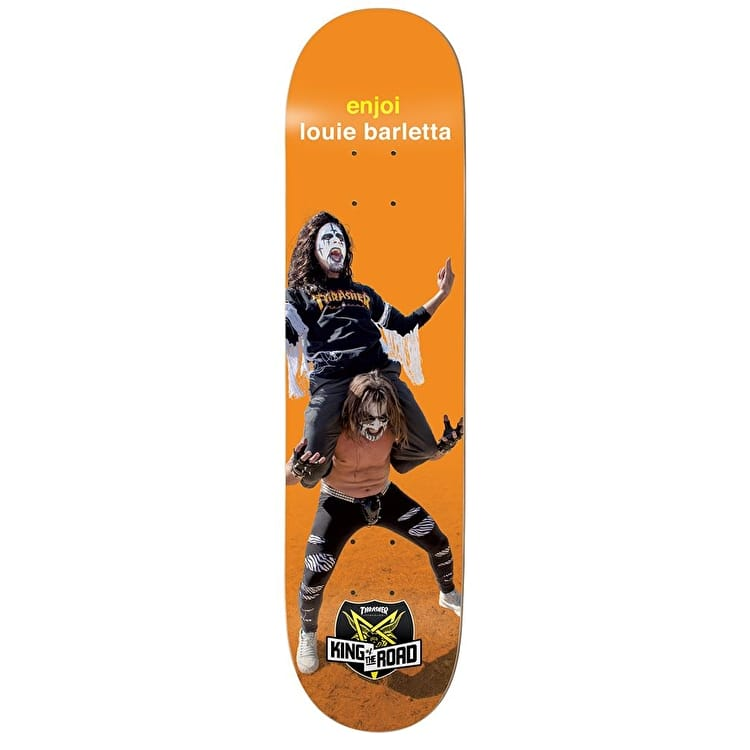 Enjoi King Of The Road Series Skateboard Deck - Barletta 8.1""