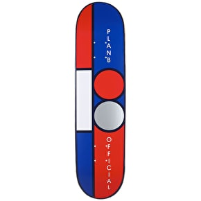 Plan B Team Block Mini Skateboard Deck - 7.5