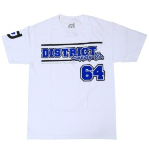 District Supply Co. Team T-Shirt - White