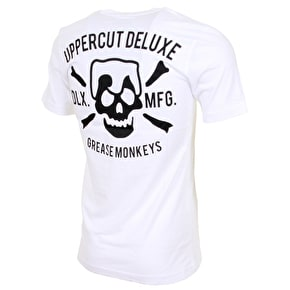Uppercut Deluxe Grease Monkey T-Shirt - White