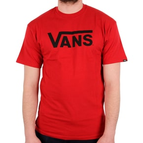 Vans Classic T-Shirt - Chilli Pepper Black