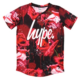Hype Rose Splat Kids T-Shirt - Rose Splat