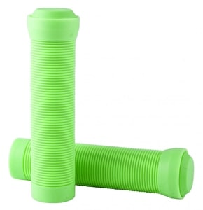 Blazer Pro Grips Flangeless with End Plugs Neon Green