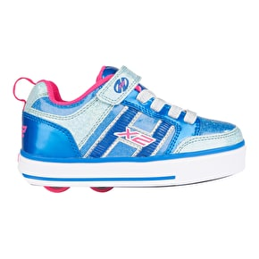 Heelys X2 Bolt Plus - Ice Blue/Silver/Pink