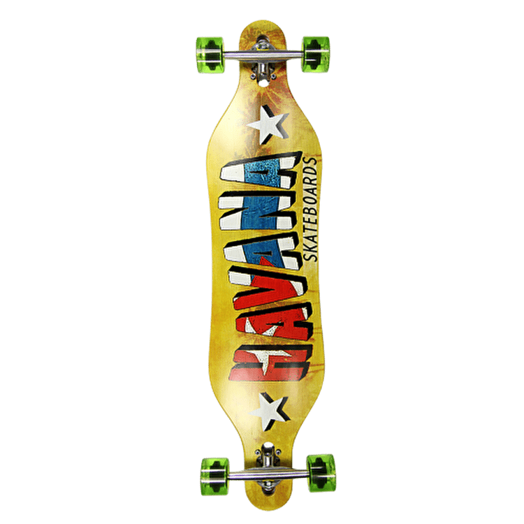 Havana Gemini Drop-Through Banner Complete Longboard 40""
