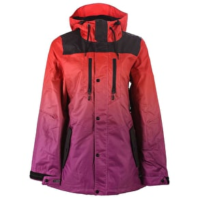 Neff Falcon Womens Jacket - Red/Purple