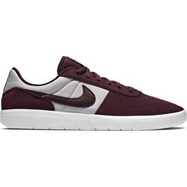 Nike SB Team Classic Skate Shoes - Burgundy Crush/Burgundy Crush White