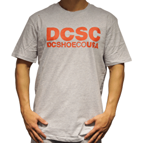DC DCSC T-Shirt - Grey / Orange