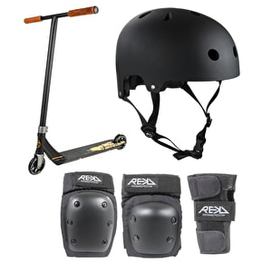 Addict Defender Stunt Scooter Bundle