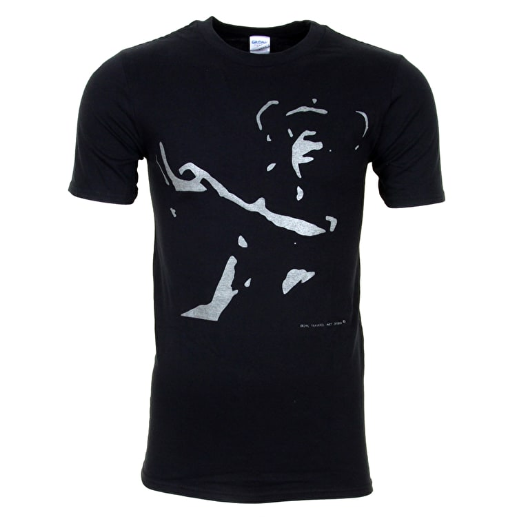 Brian Travers Black Monkey T-Shirt - Luminous