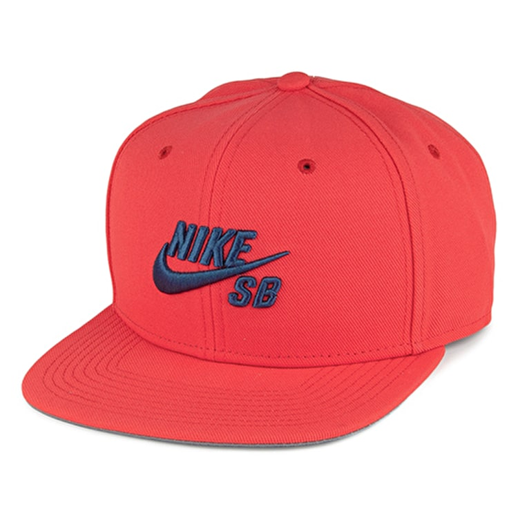 Nike SB Icon Classic Snapback Cap - Red