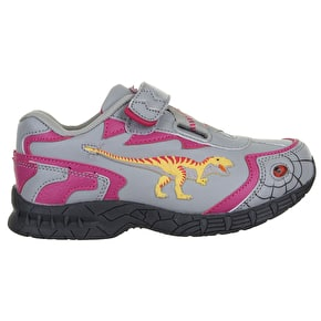 B-Stock Dinosoles Dinofit Kids Shoes - T-Rex Pink Junior 13 (Doesn't Flash)