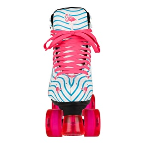 Rookie Flamingo Quad Roller Skates - White/Multi