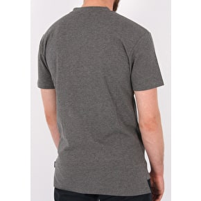 Grizzly Front Runner Premium Pocket T-Shirt - Charcoal