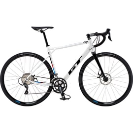 GT 700 M GTR Sport Complete Road Bike - White