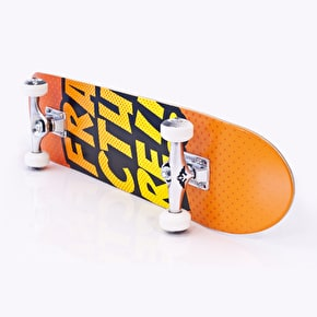 Fracture Skateboard - Comic VT Orange 7.5