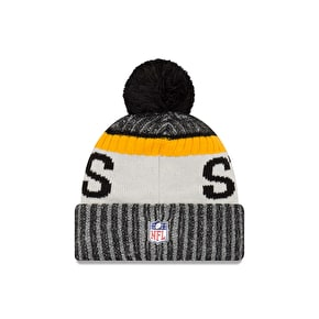 New Era NFL Sideline Beanie - Pittsburgh Steelers