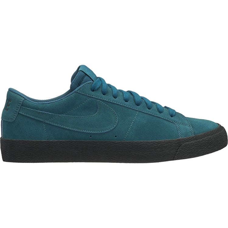 brand new f8afc a0f54 ... discount code for nike sb zoom blazer low skate shoes geode teal geode  teal black 0e504