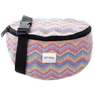 Spiral Harvard Bum Bag - Rainbow Aztec