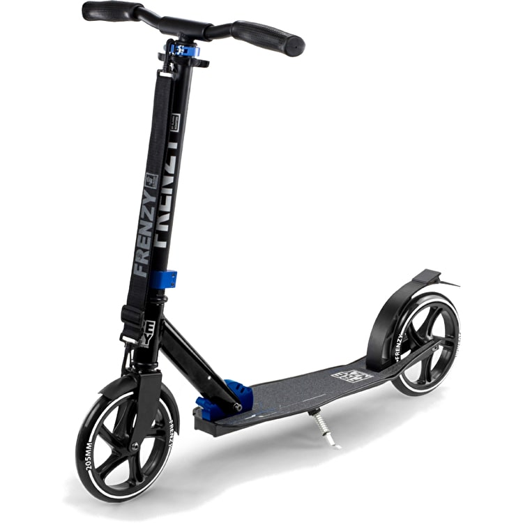 Frenzy 205mm Folding Commuter Scooter - Black
