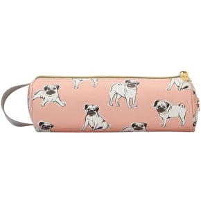 Mi-Pac Pugs Pencil Case - Peach