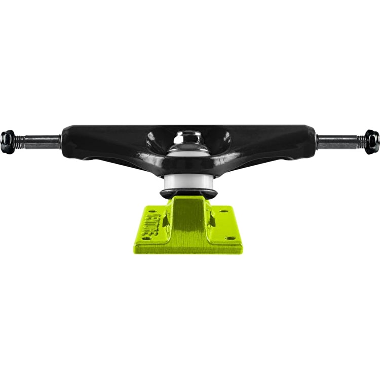 Venture Arcade Low 5.0 Skateboard Trucks - Black/Lime