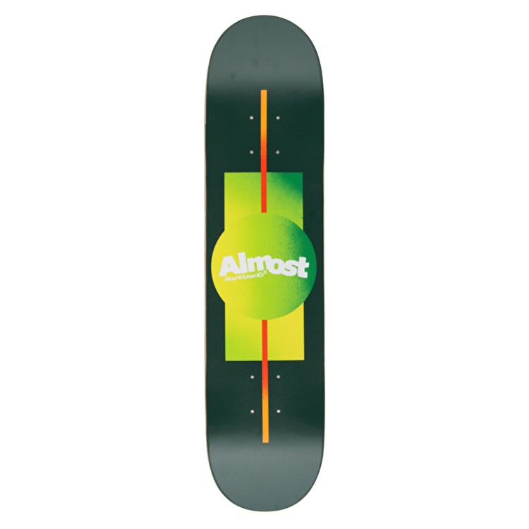 Almost Gradient HYB Skateboard Deck - Forest 7.5""