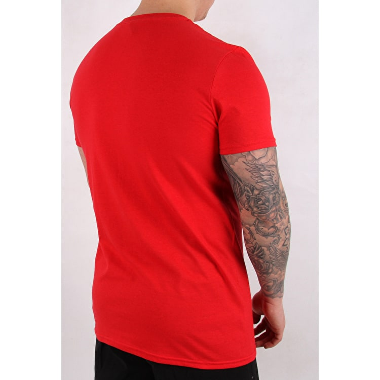 ReVive Lightning Pocket T Shirt - Red