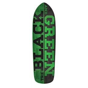 Creature Black And Green Skateboard Deck - 8.5