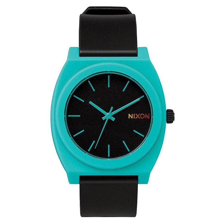 Nixon Time Teller P Watch - Black/Teal