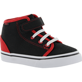 Vans 106 Hi Toddlers Shoes - (Pop)Black/Red