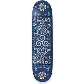 Drawing Boards Positive Symbols Skateboard Deck - Spiral Of Life - 8.25