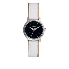 Nixon Women's Kenzi Leather Watch - Navy/White