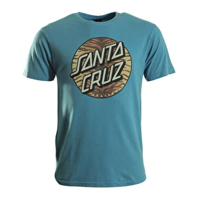 Santa Cruz T-Shirt - Tiger Dot Vintage Blue