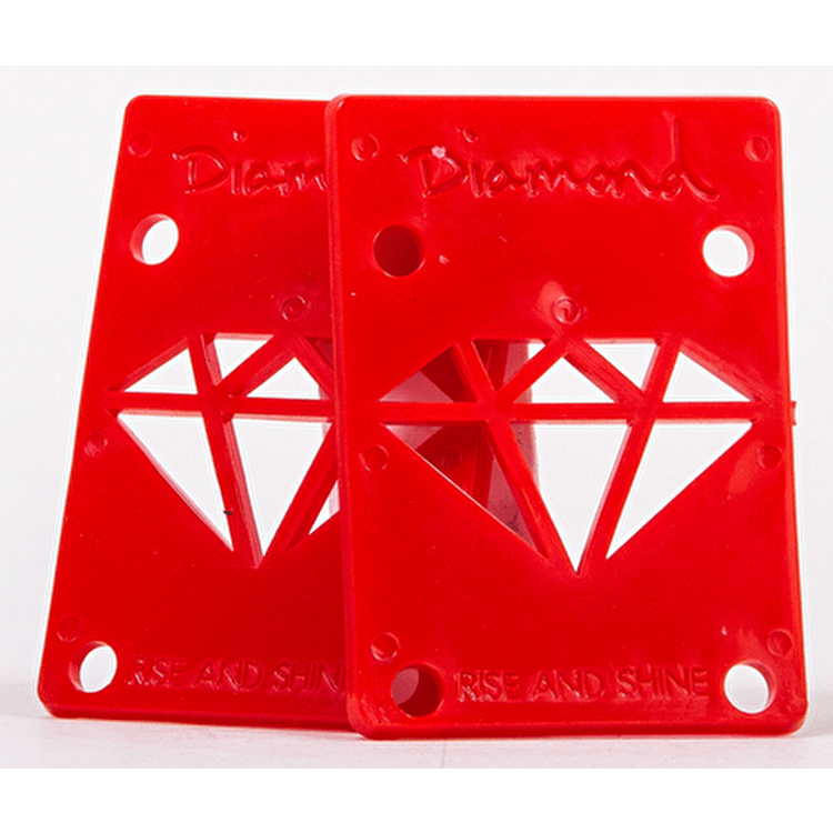 Diamond Rise and Shine Risers - Red