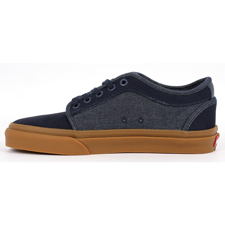 Vans Chukka Low (Denim) Skate Shoes - Dress Blues/Class