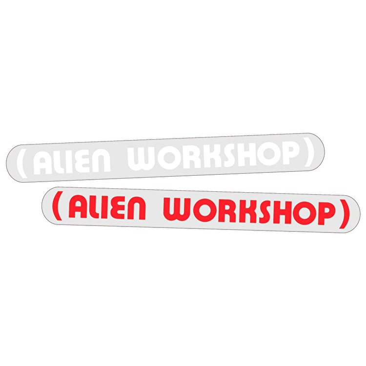 "Alien Workshop Parenthesis 8"" Skateboard Sticker - Multi"
